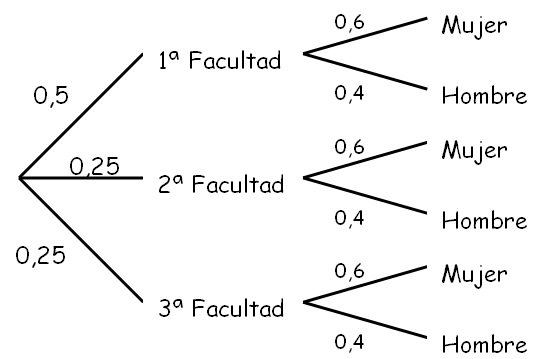 diagrama de árbol. Sofia