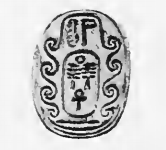 "Steatite scarab of pharaoh Djedankhre Montemsaf reading ""The good god, Djedankhra"", now in the Petrie Museum UC11225."
