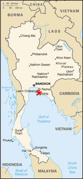 Utapao Afb Thailand Map.Alert 5 Thailand To Expand Commercial Air Traffic At U Tapao Naval