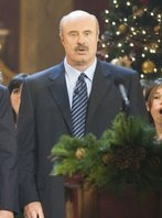 "Dr. Phil McGraw appeared in ""Treehouse of Horror XVII""."