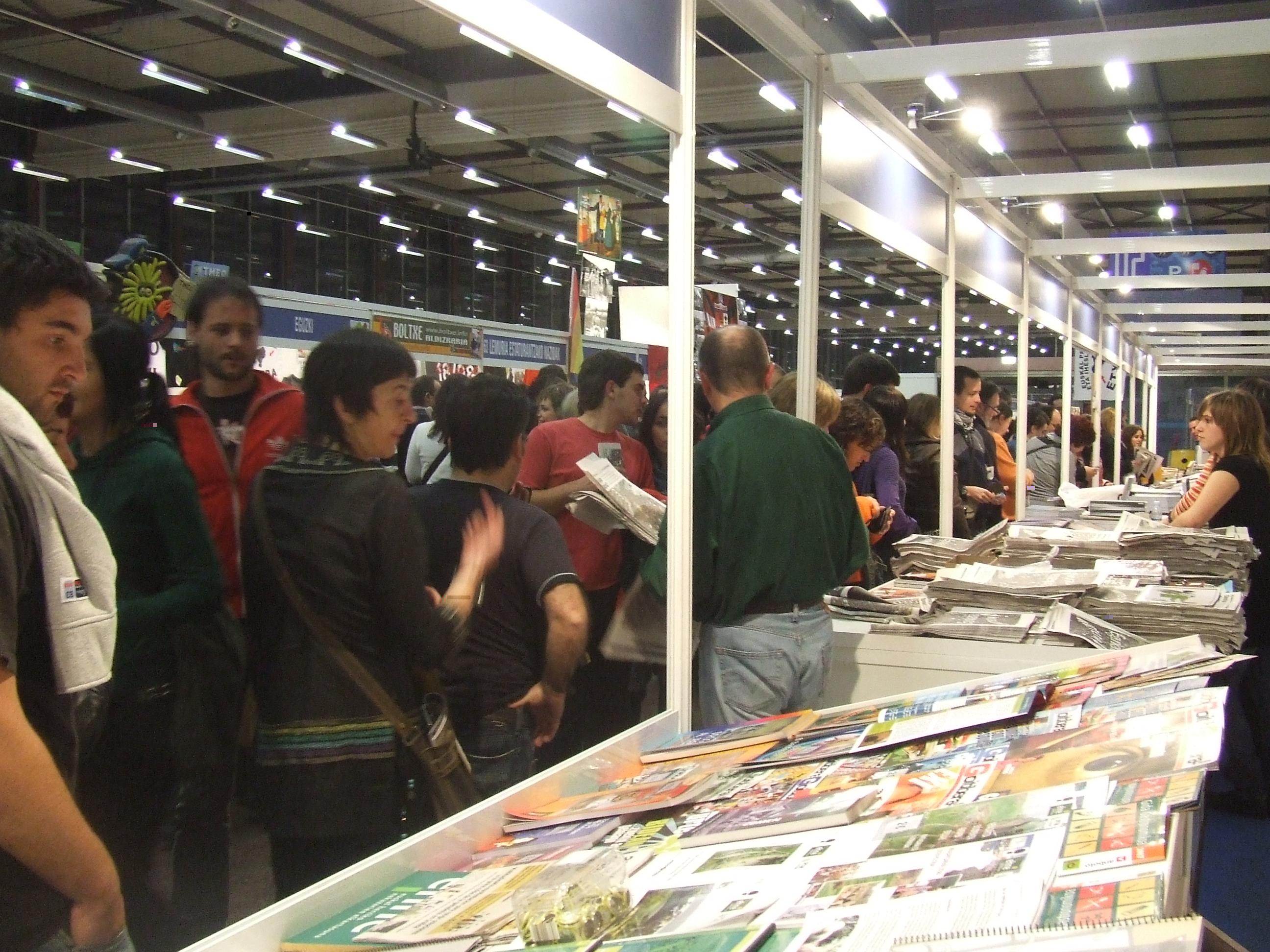 Depiction of Feria del libro y del disco vasco de Durango