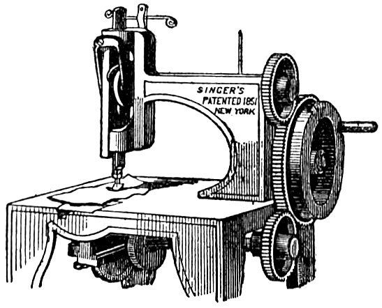 FileEB40 Sewing Machine Singer's Originaljpg Wikimedia Commons Interesting Original Sewing Machine