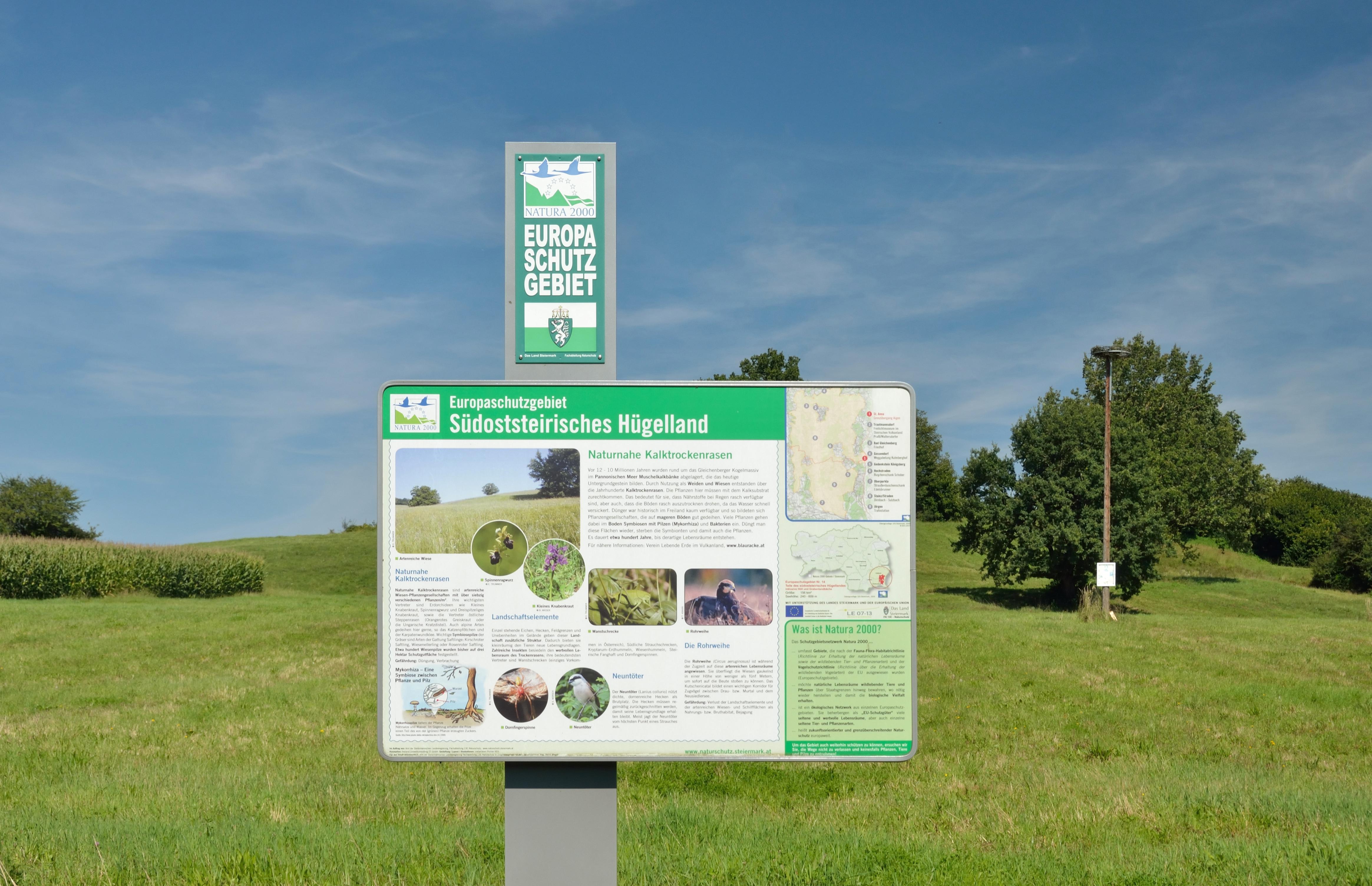 Fileesg Südoststeirisches Hügelland Sign In St Anna Am Aigenjpg