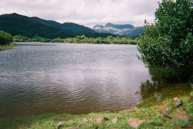Elterwater and the Langdale Pikes - geograph.org.uk - 1533215