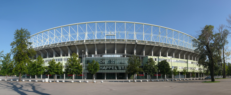 Depiction of Estadio Ernst Happel