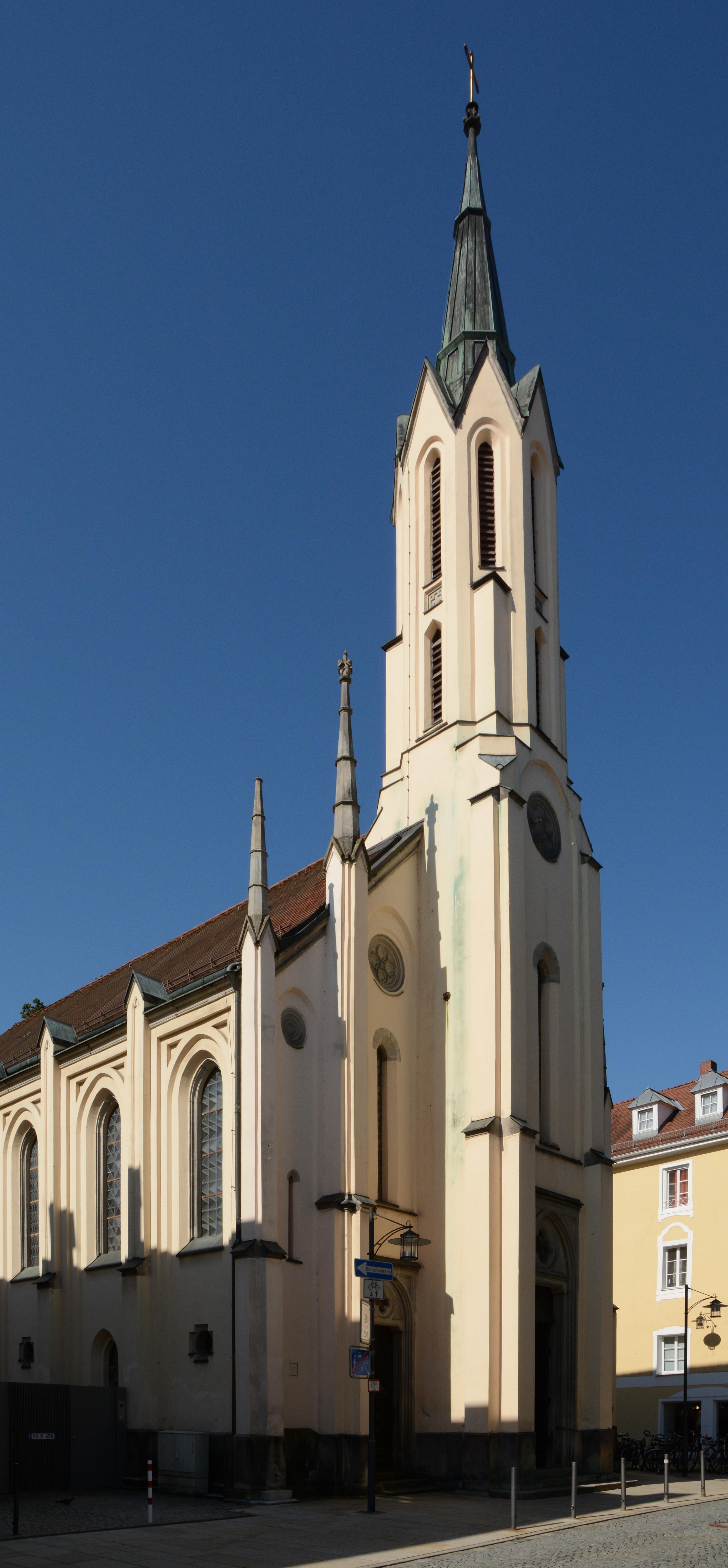Dateievangelische Pfarrkirche St Matthäus Passau Cjpg Wikipedia