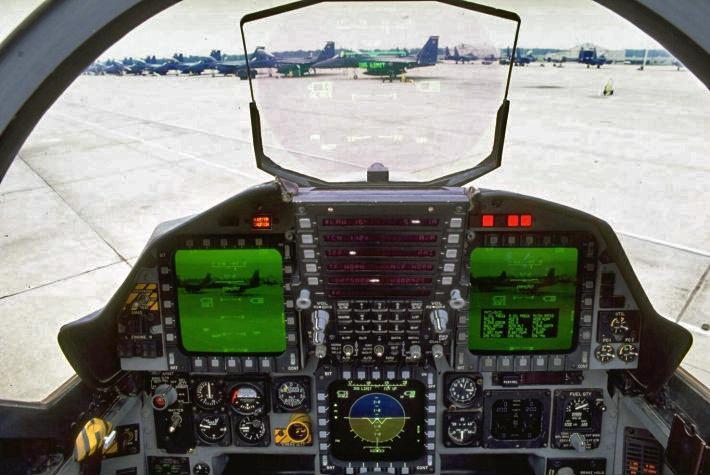 File:F-15e cock... F 15 Cockpit