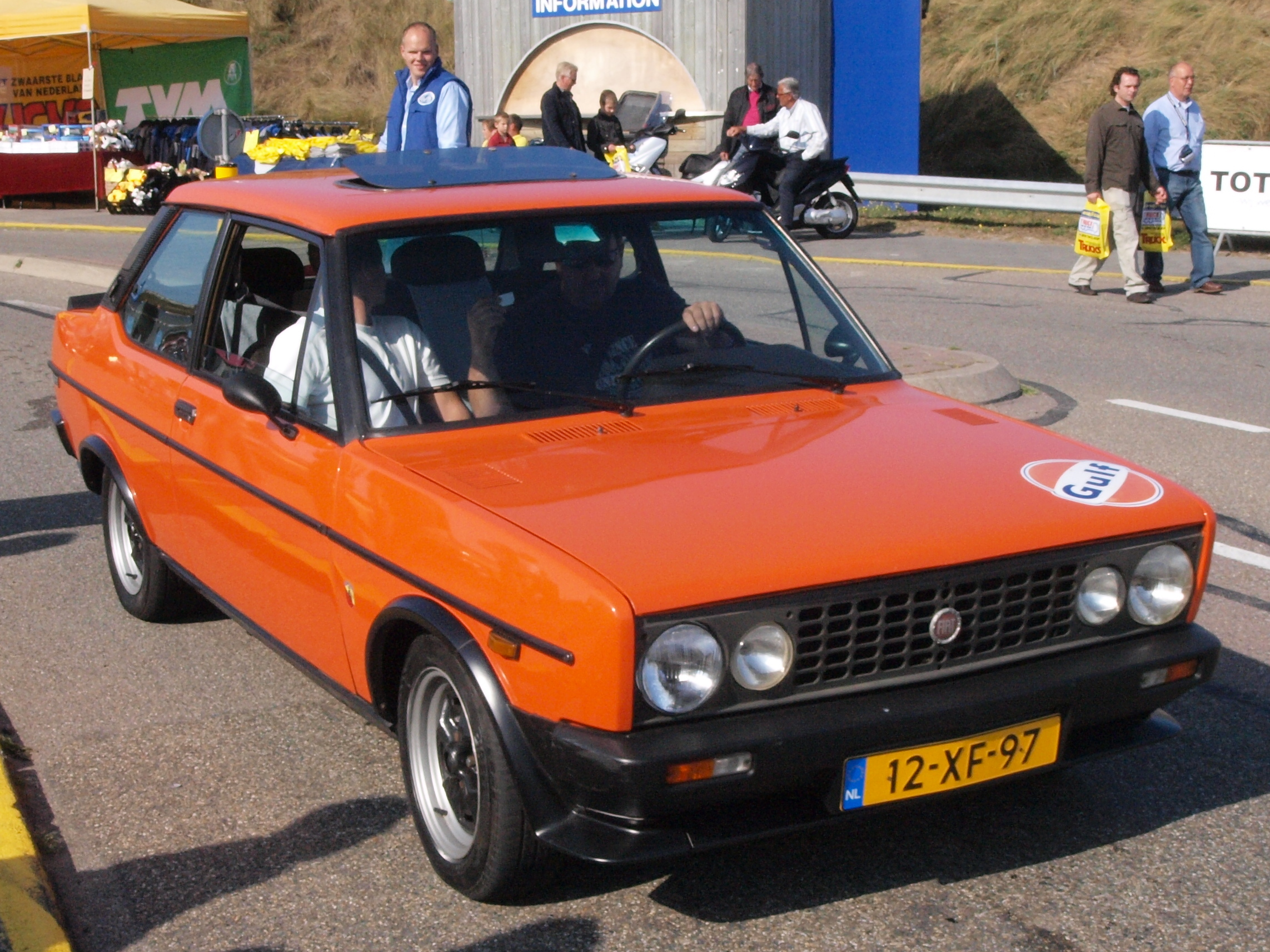 File Fiat 131 Racing Dutch Licence Registration 12 Xf 97