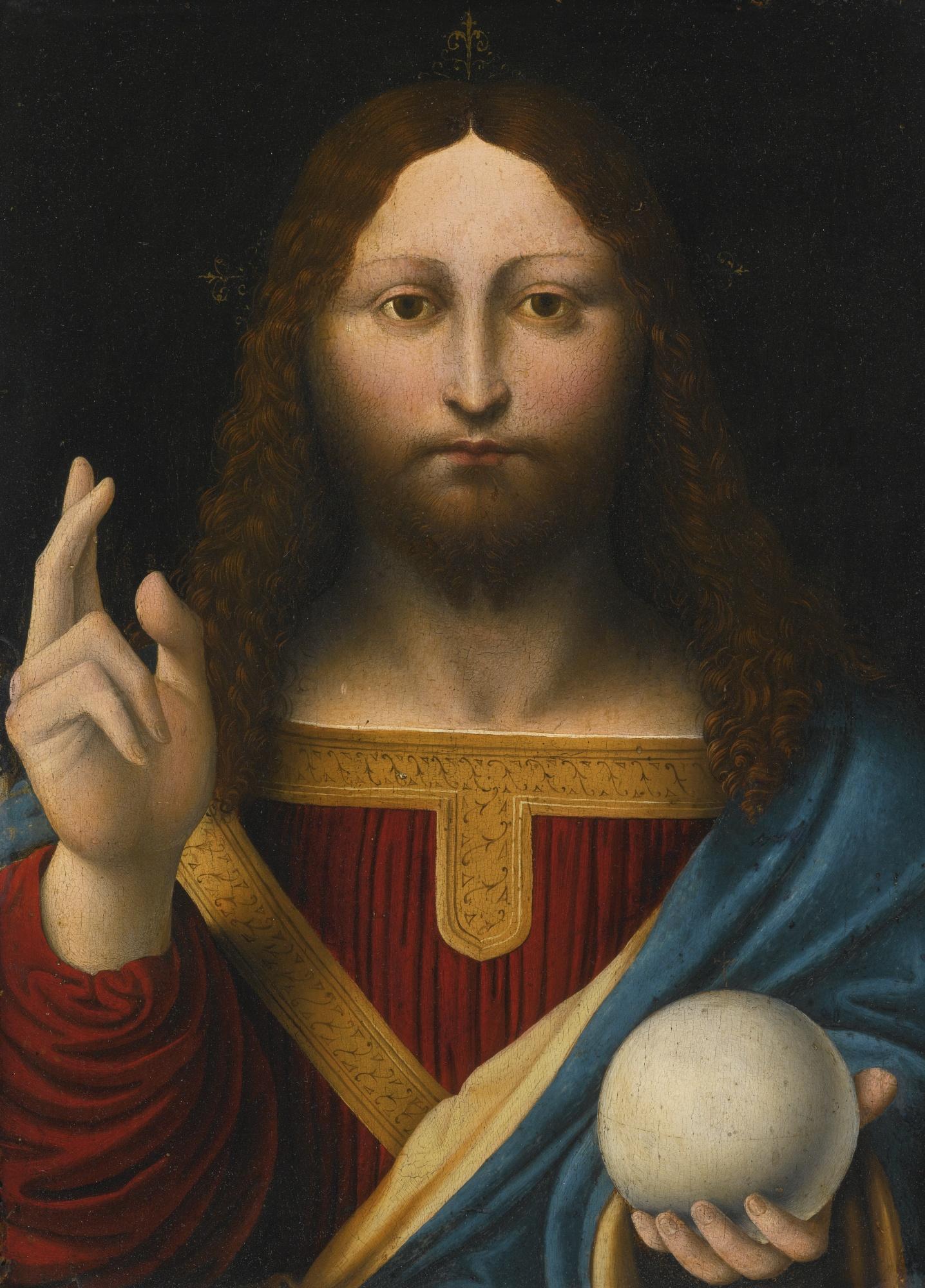 Salvator Mundi (Leonardo) - Wikipedia