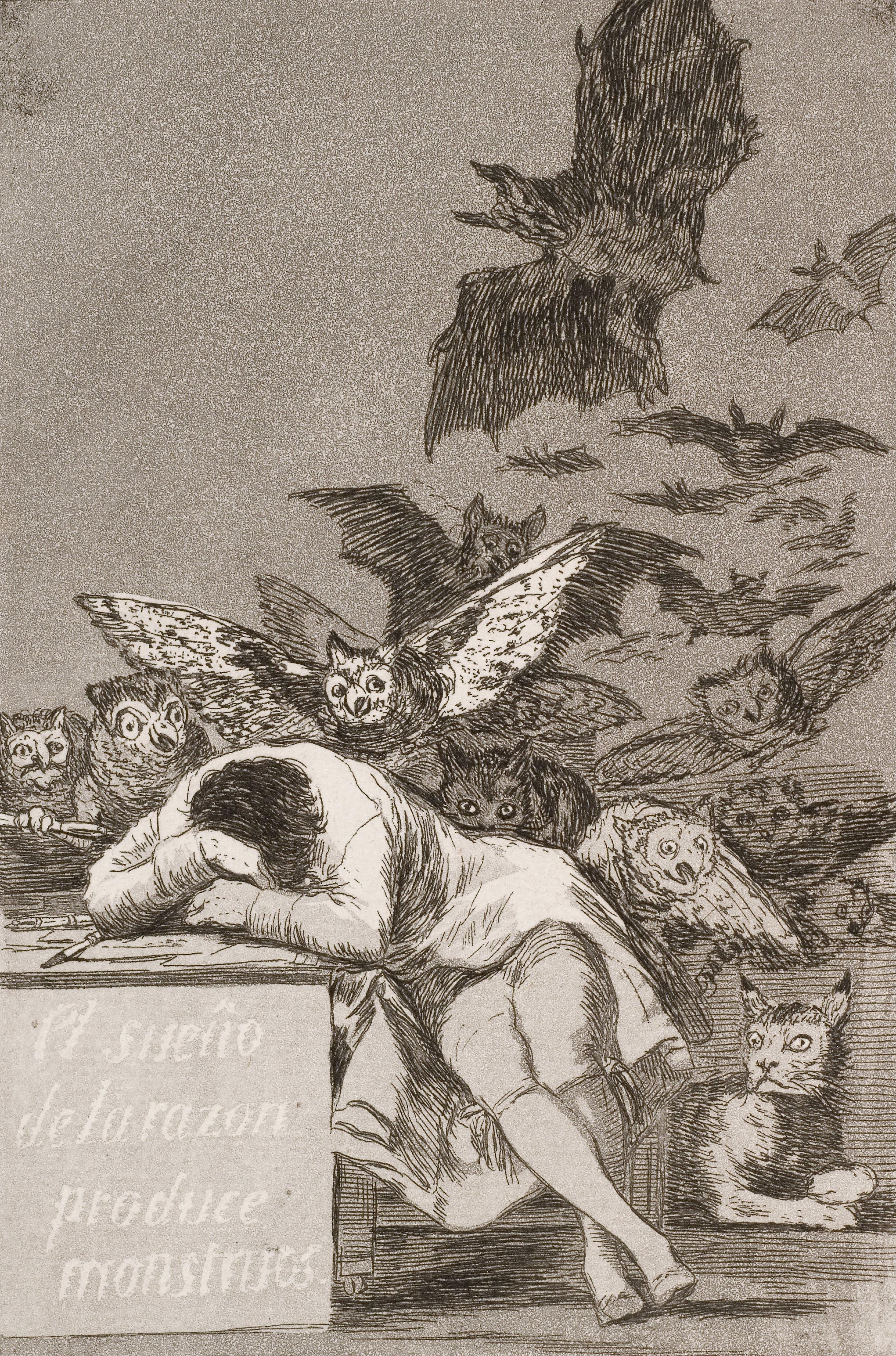 El sueño de la razón produce monstruos - Wikipedia, la ...