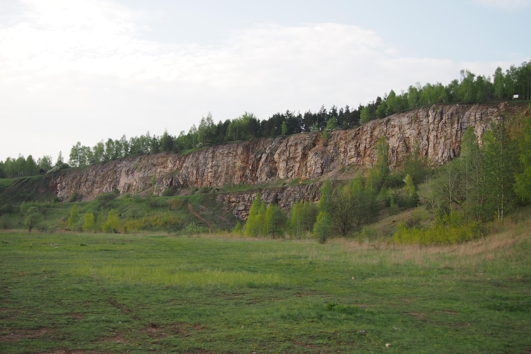 Góra Rzepka - kamieniołom