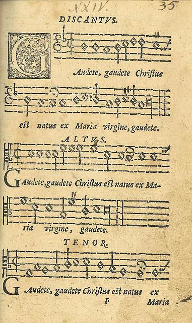 gaudete wikipedia - Swedish Christmas Songs