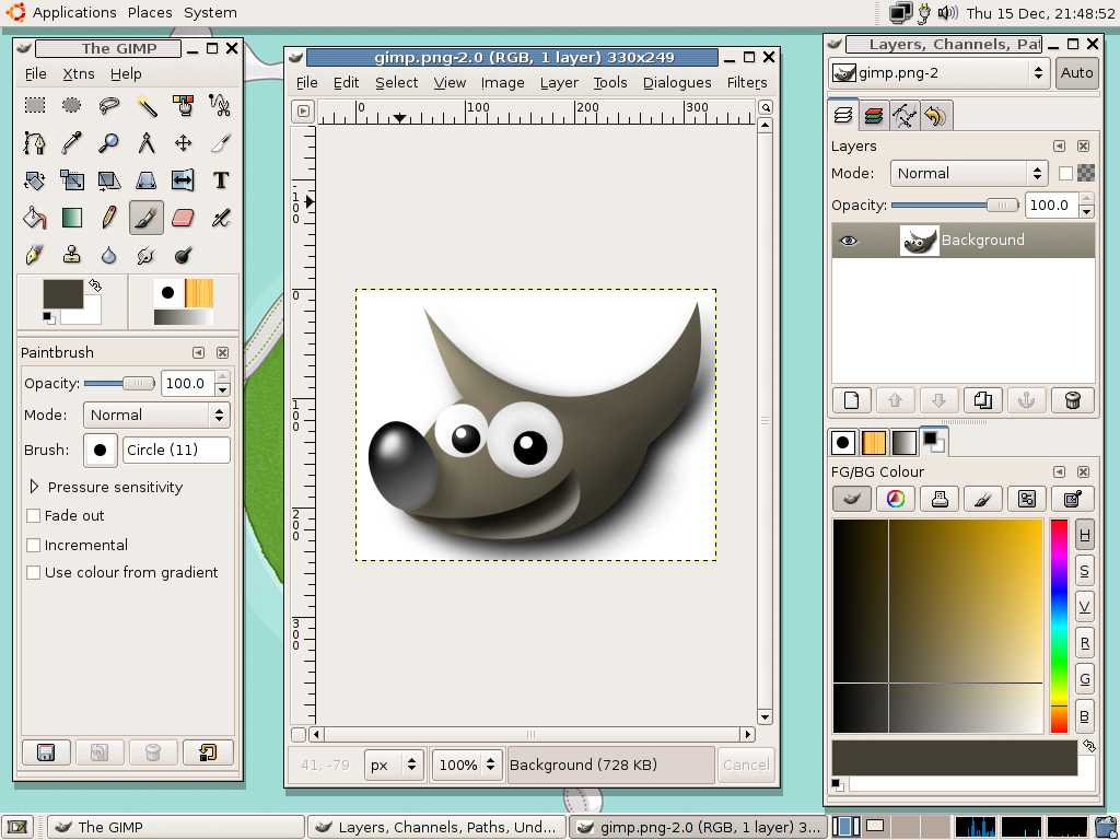 File gimp gnome 2 2 wikimedia commons Best free drawing programs