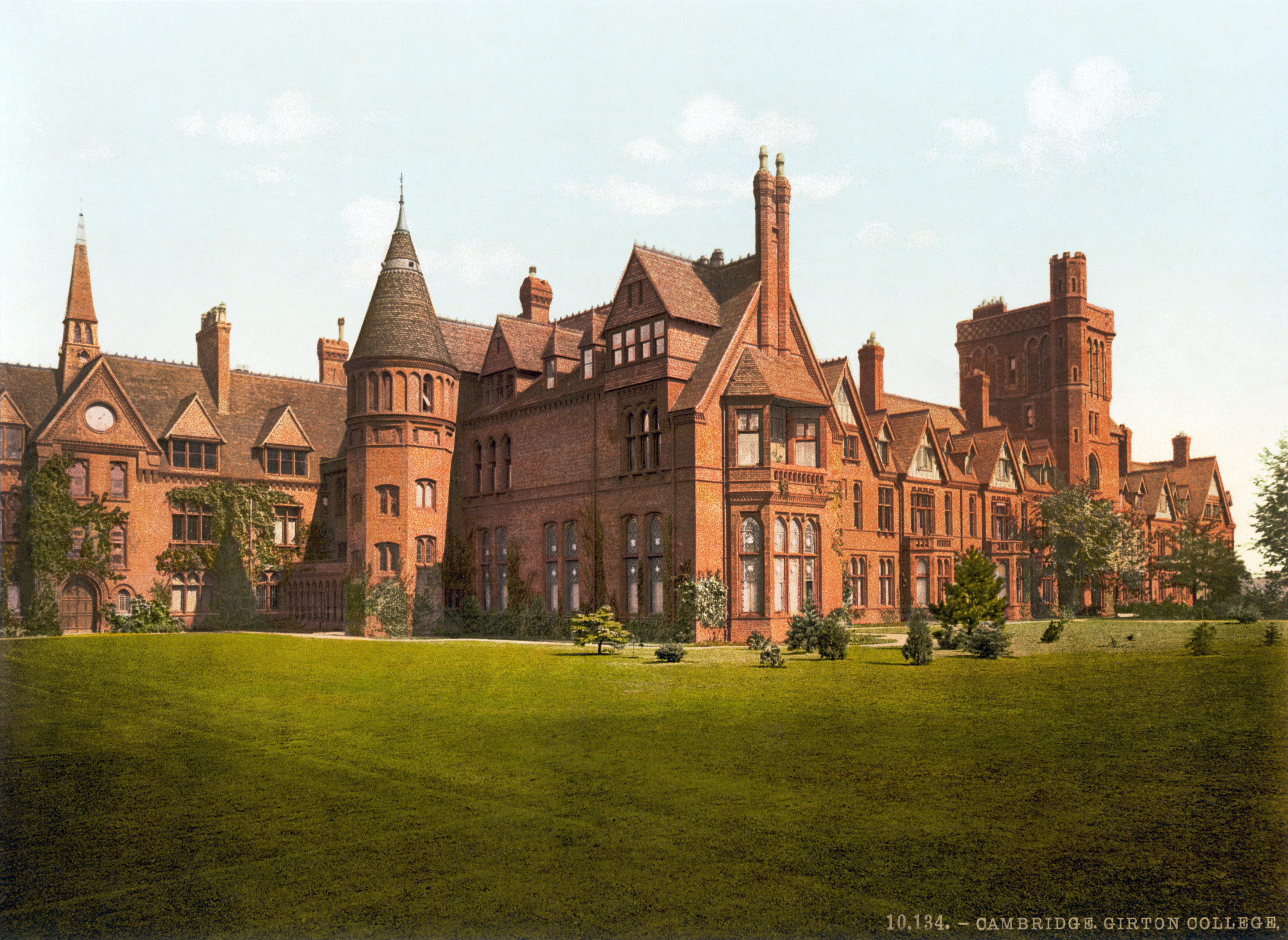 Oregon City (OR) United States  City new picture : Girton College, Cambridge, England, 1890s Wikimedia Commons
