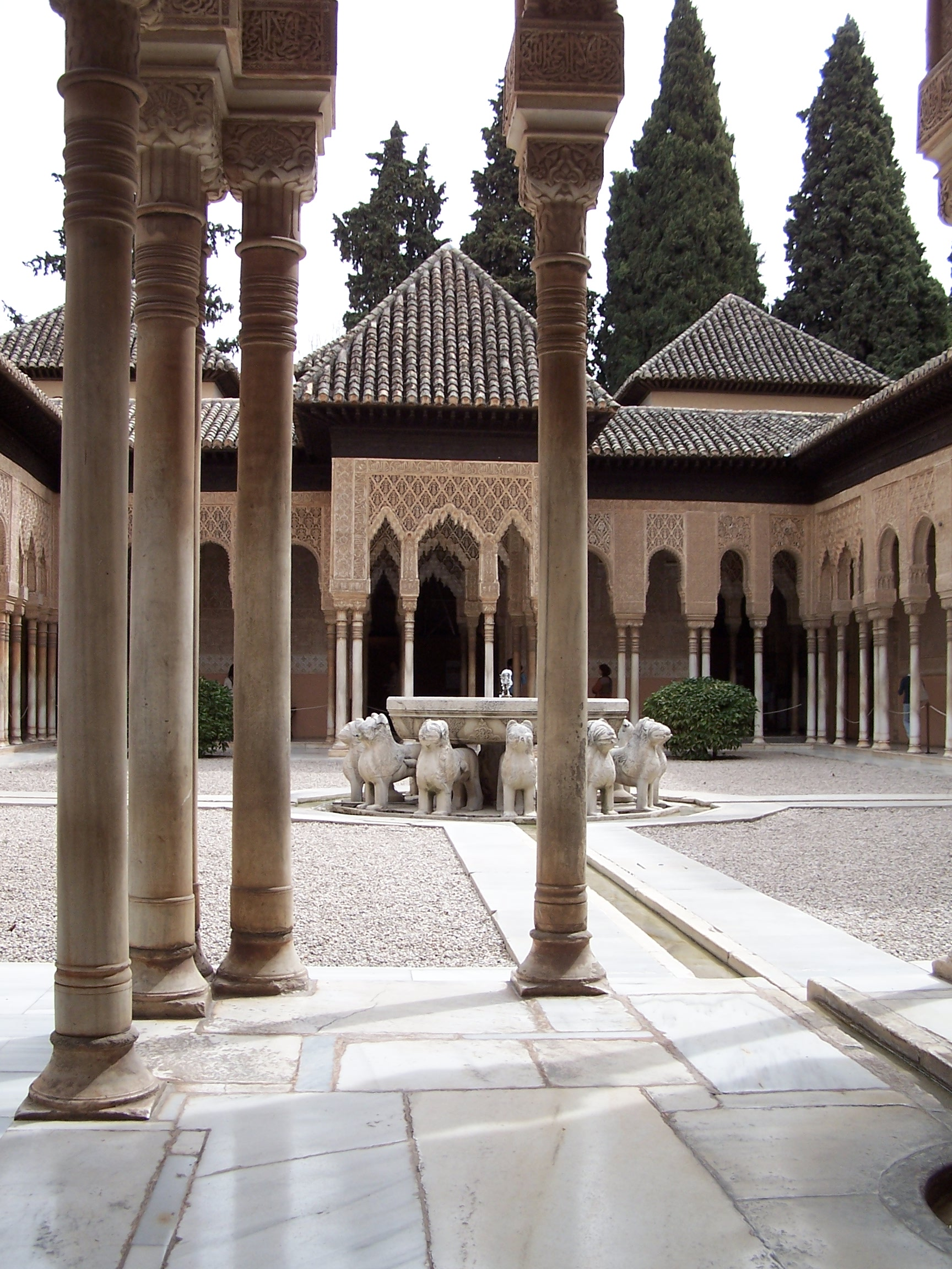 File granada alhambra patio de los wikimedia for Patios de granada