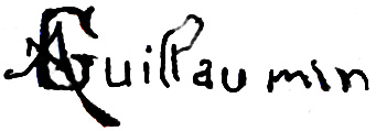 Signature d'Armand Guillaumin