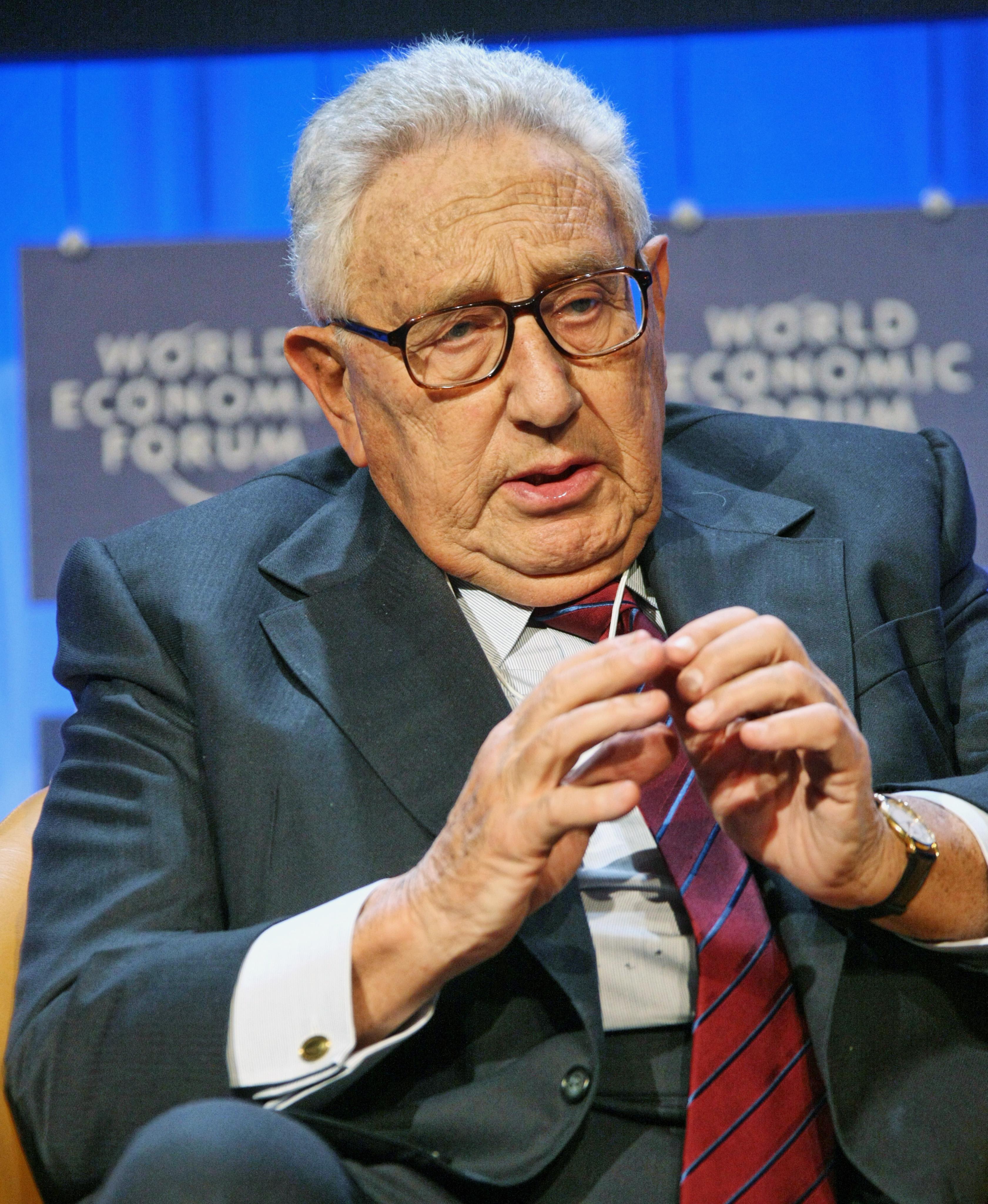 File:Henry Kissinger - World Economic Forum Annual Meeting ...