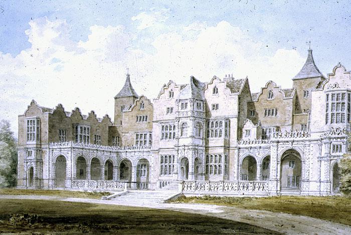 Холланд-хаус, где умер Аддисон.