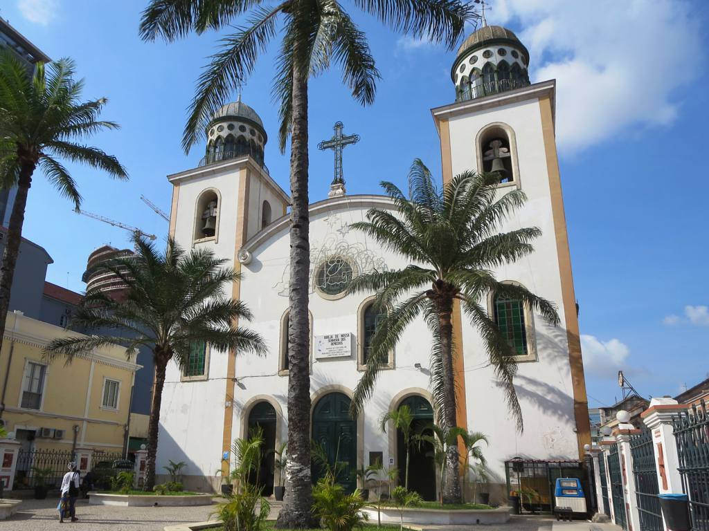 Image result for cathedral of the holy saviour, luanda