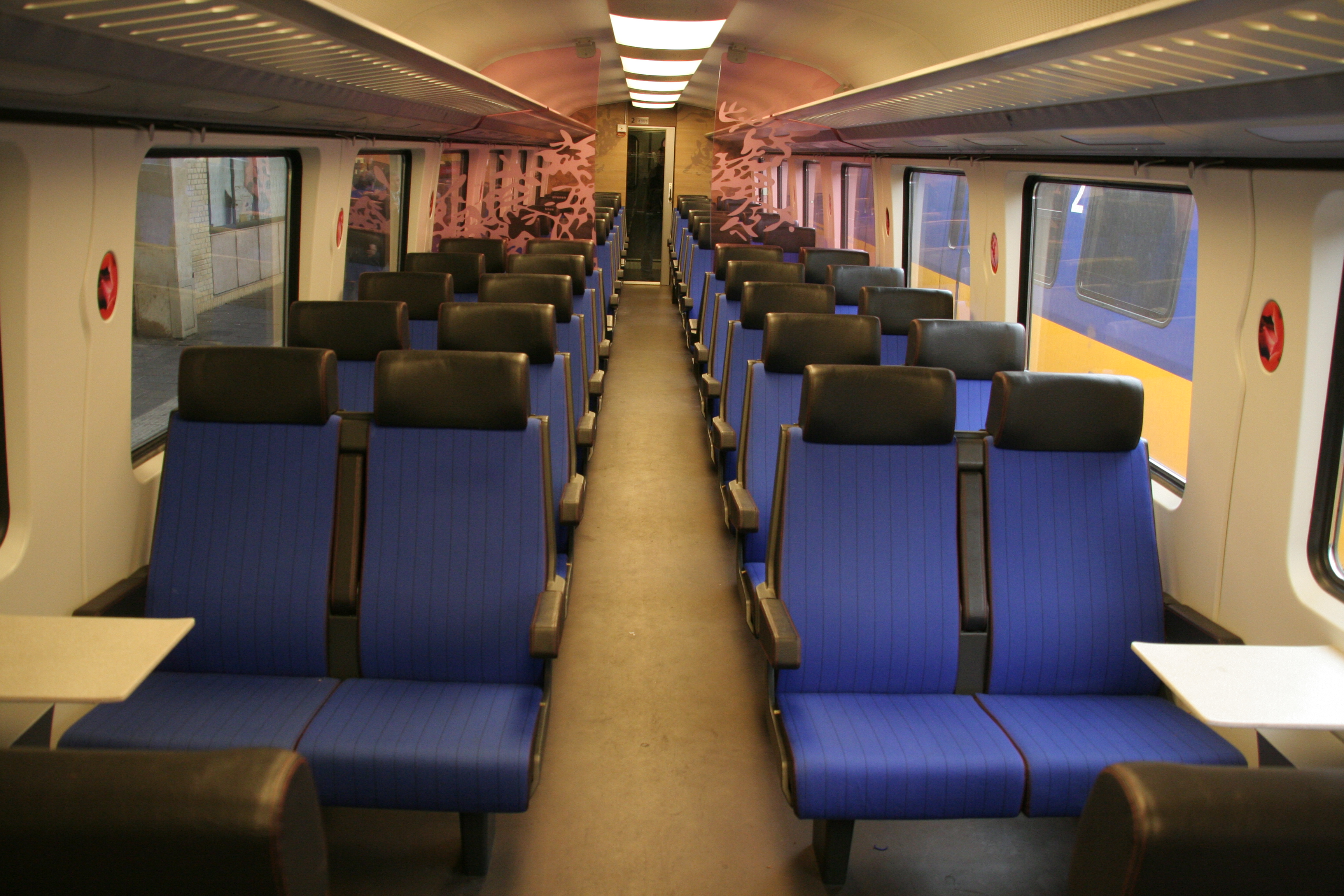 Interior design in means of transportation for First class 8 interieur