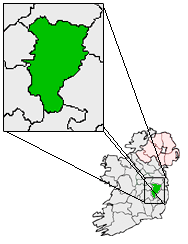 Ireland map County Kildare Magnified.png