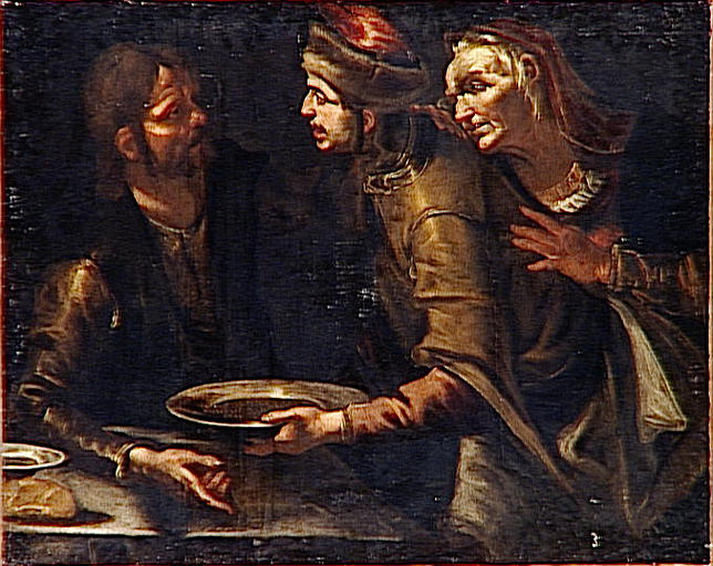 File:Jacob offers a dish of lentels to Esau for the birthright.jpg
