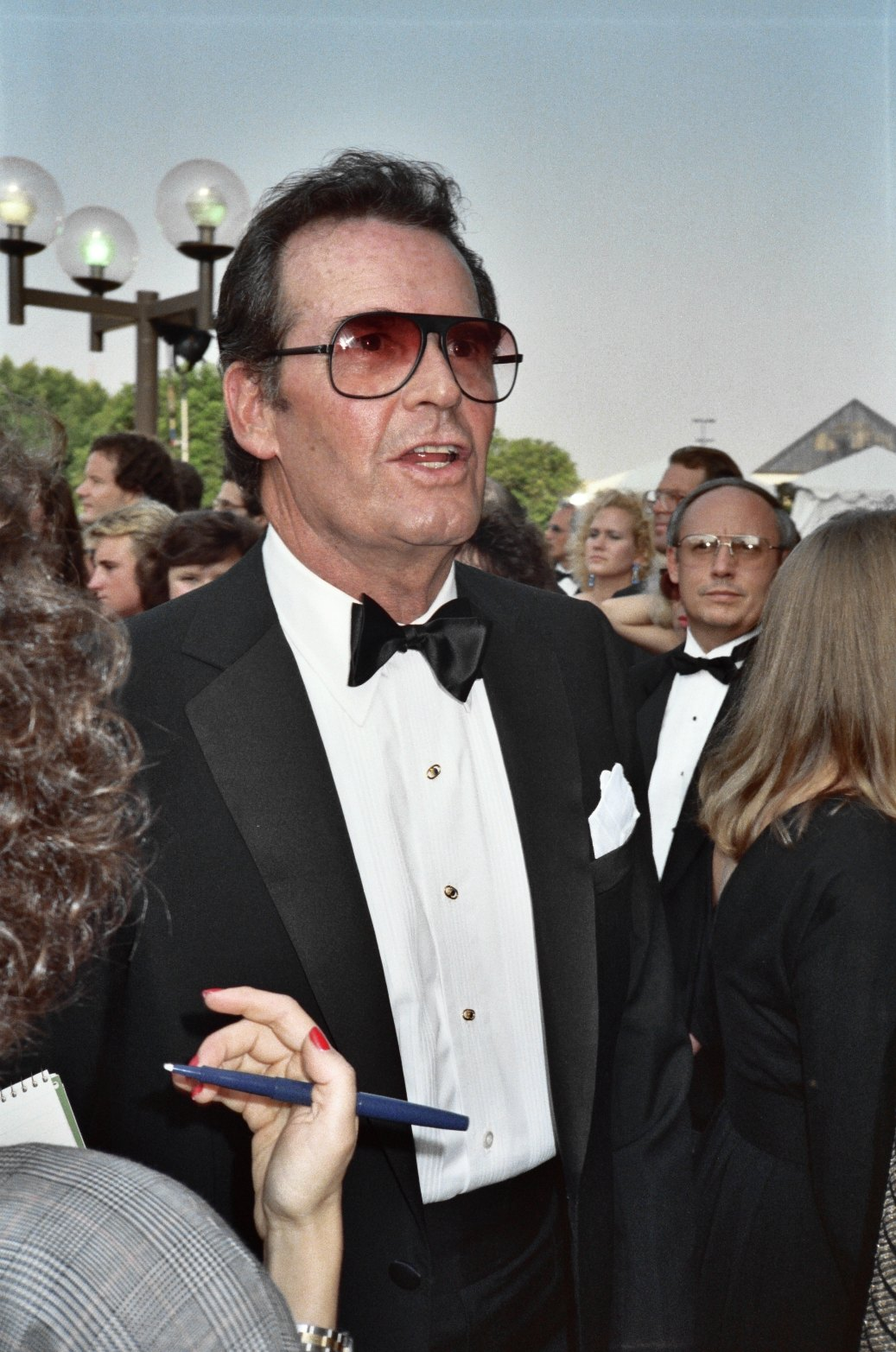 James Garner at the 39th Emmy Awards in September 1987 - click image to to to Wikipedia article