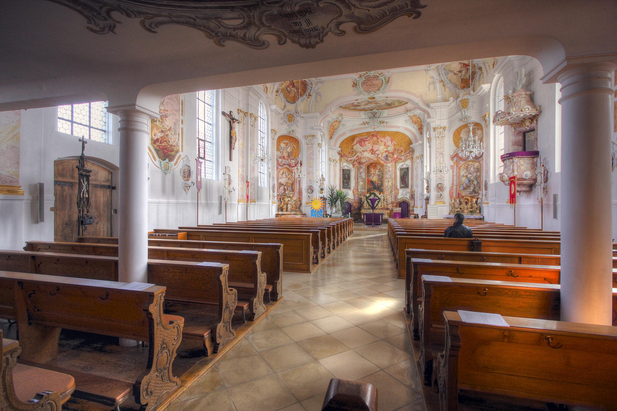 File:Jettingen-Scheppach, Scheppach Kirche Pfarrkirche