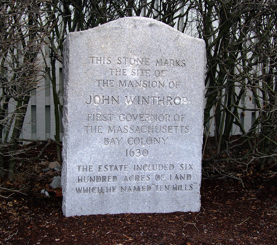 John Winthrop, Massachusetts Bay Colony