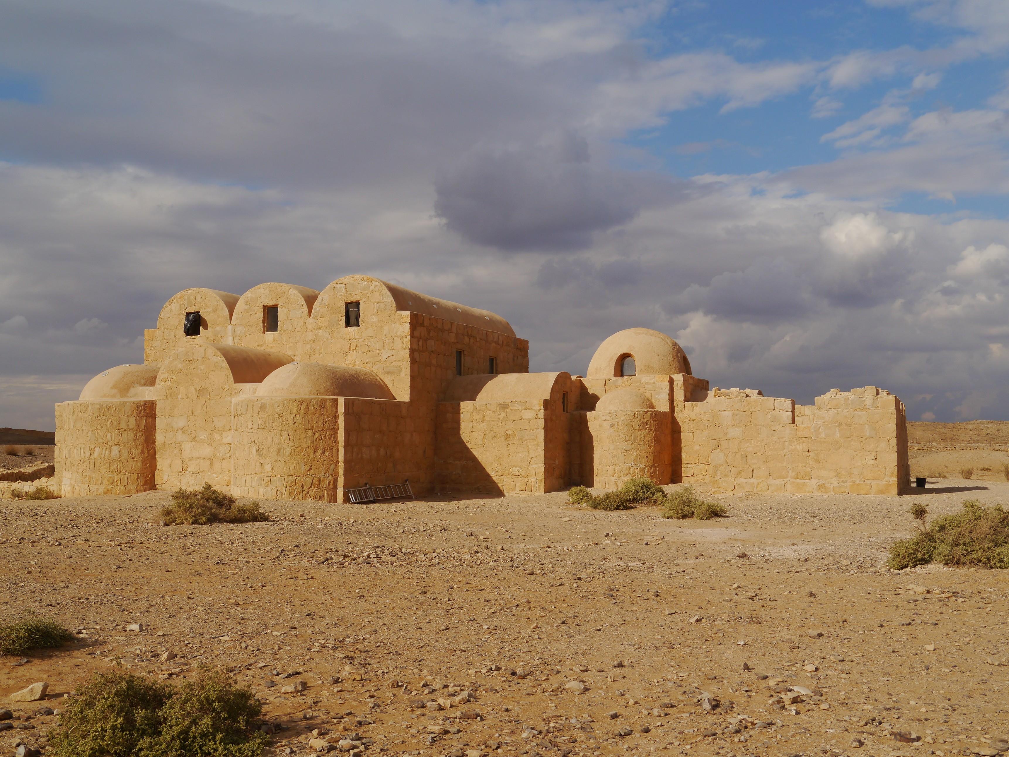 castillo Qusair Amra - ruta de viaje por jordania