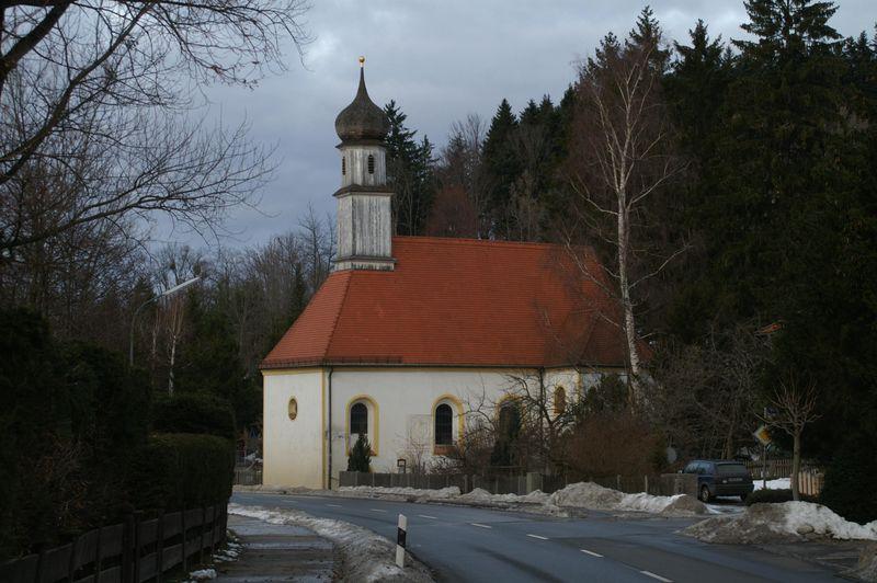 Kapellet St Quirin ved Tegernsee