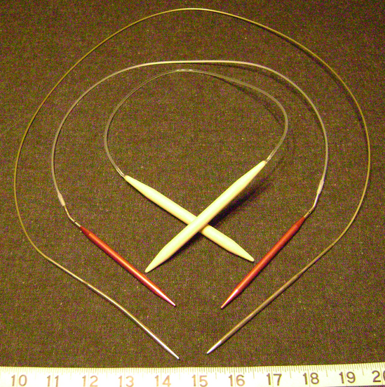 Knitting Needle Sizes : File:Knitting needle sizes circular.png - Wikimedia Commons