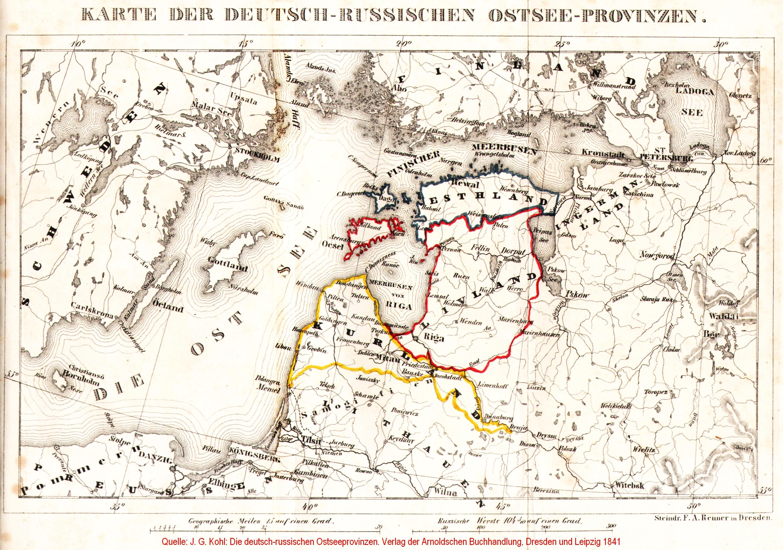 Karte Ostseeküste Deutsch.File Kohl Karte Der Deutsch Russischen Ostseeprovinzen Jpg