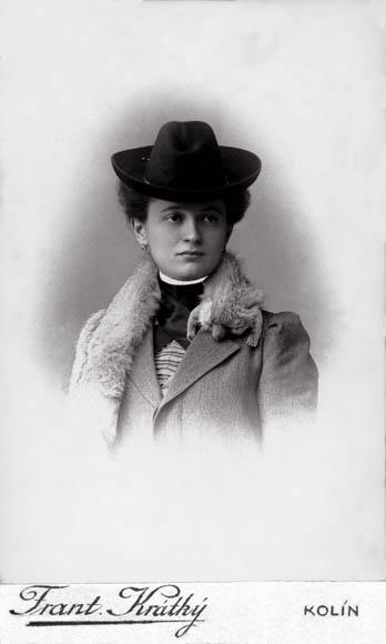 Image of Bohumila Bloudilová from Wikidata