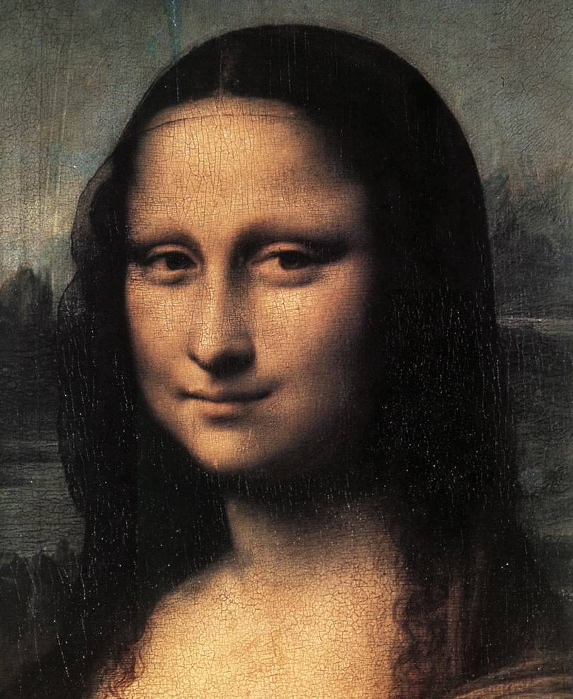 an analysis of mona lisa a painting by leonardo davinci An earlier portrait of the mona lisa has been  he believes the image he has reconstructed underneath the surface of the painting is leonardo's original lisa,.