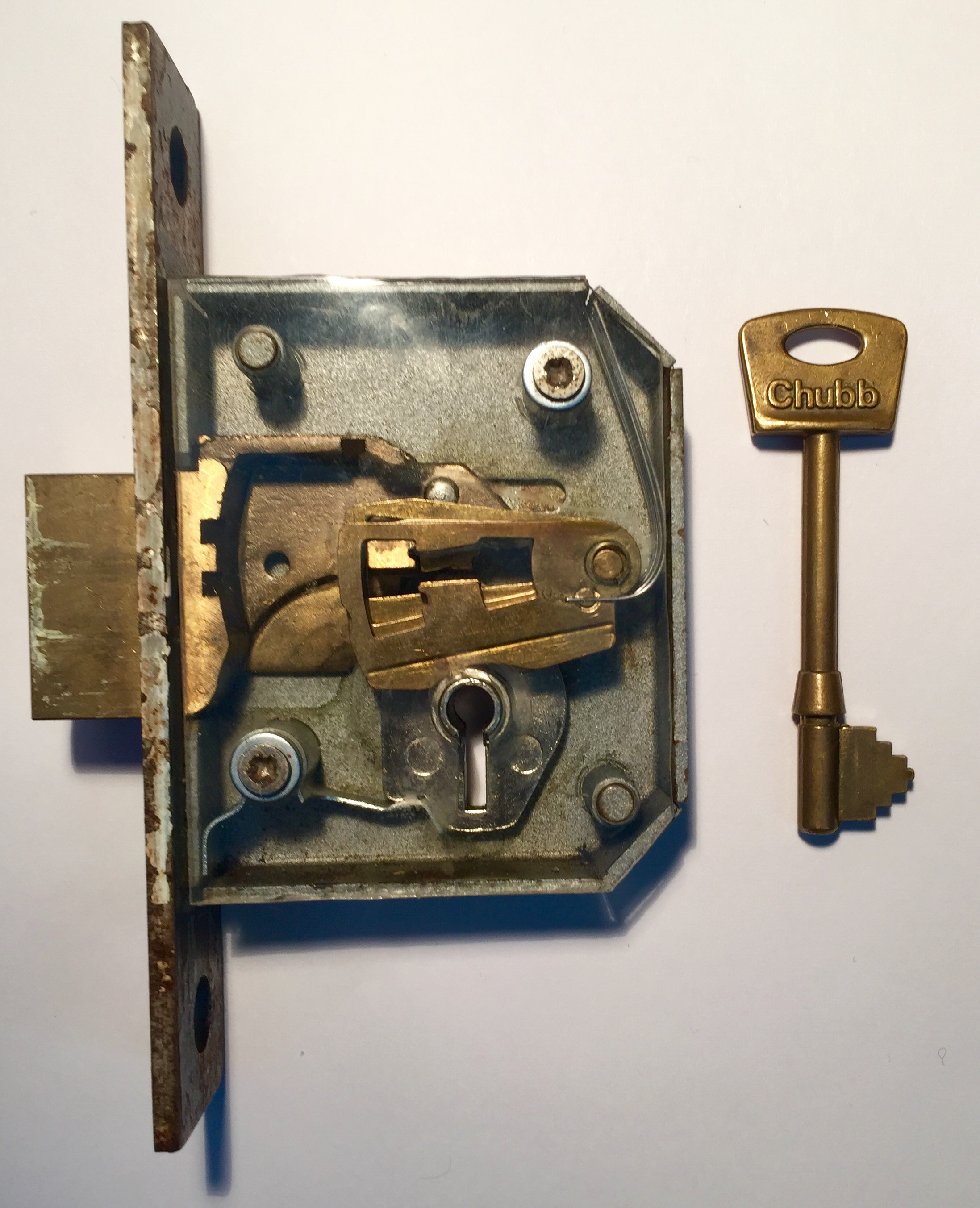 Old Fashioned Padlock
