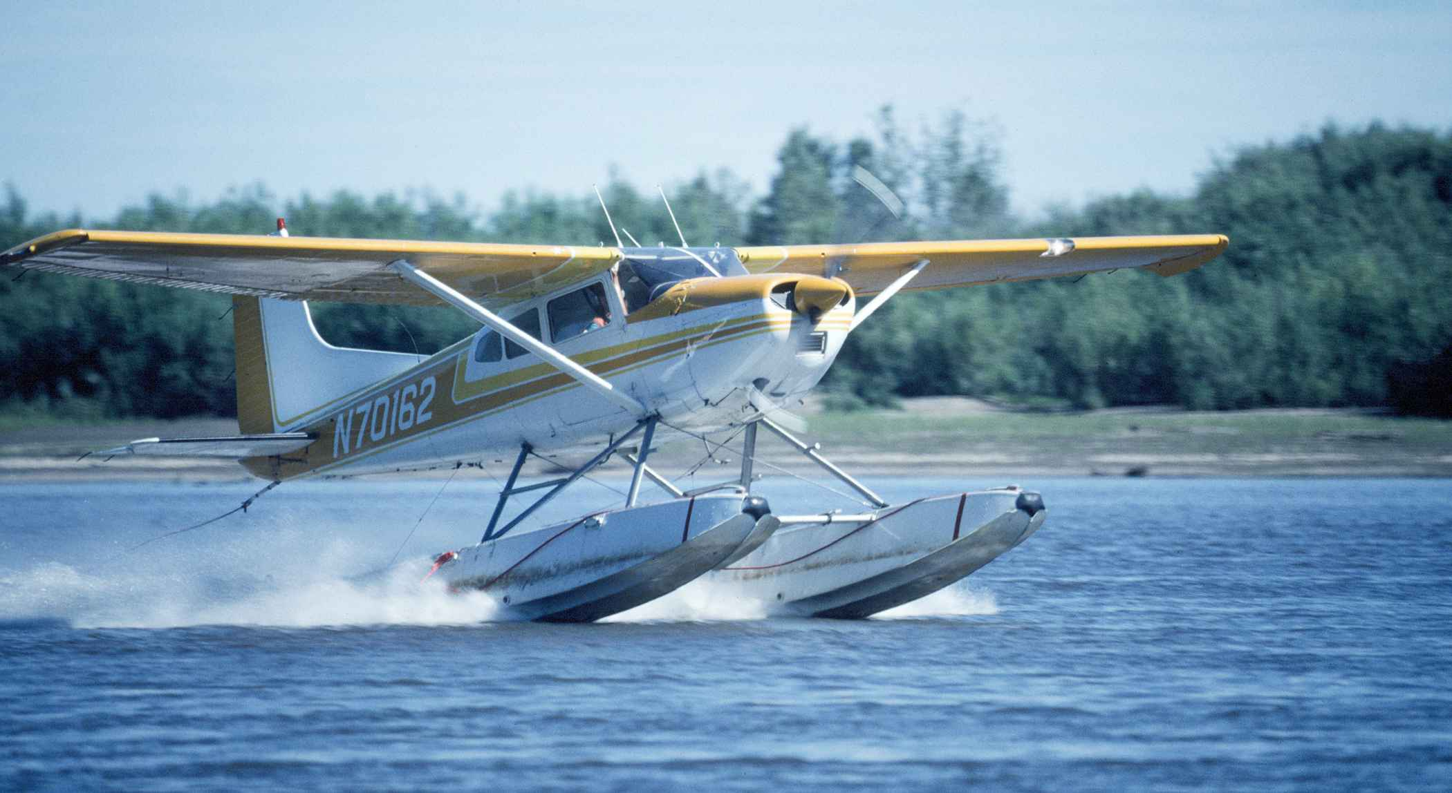 Float Plane From St Petersburg To Kizhi Island