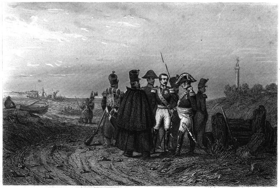 Louis-Napoléon Bonaparte à Boulogne (Débarquement en Août 1840)