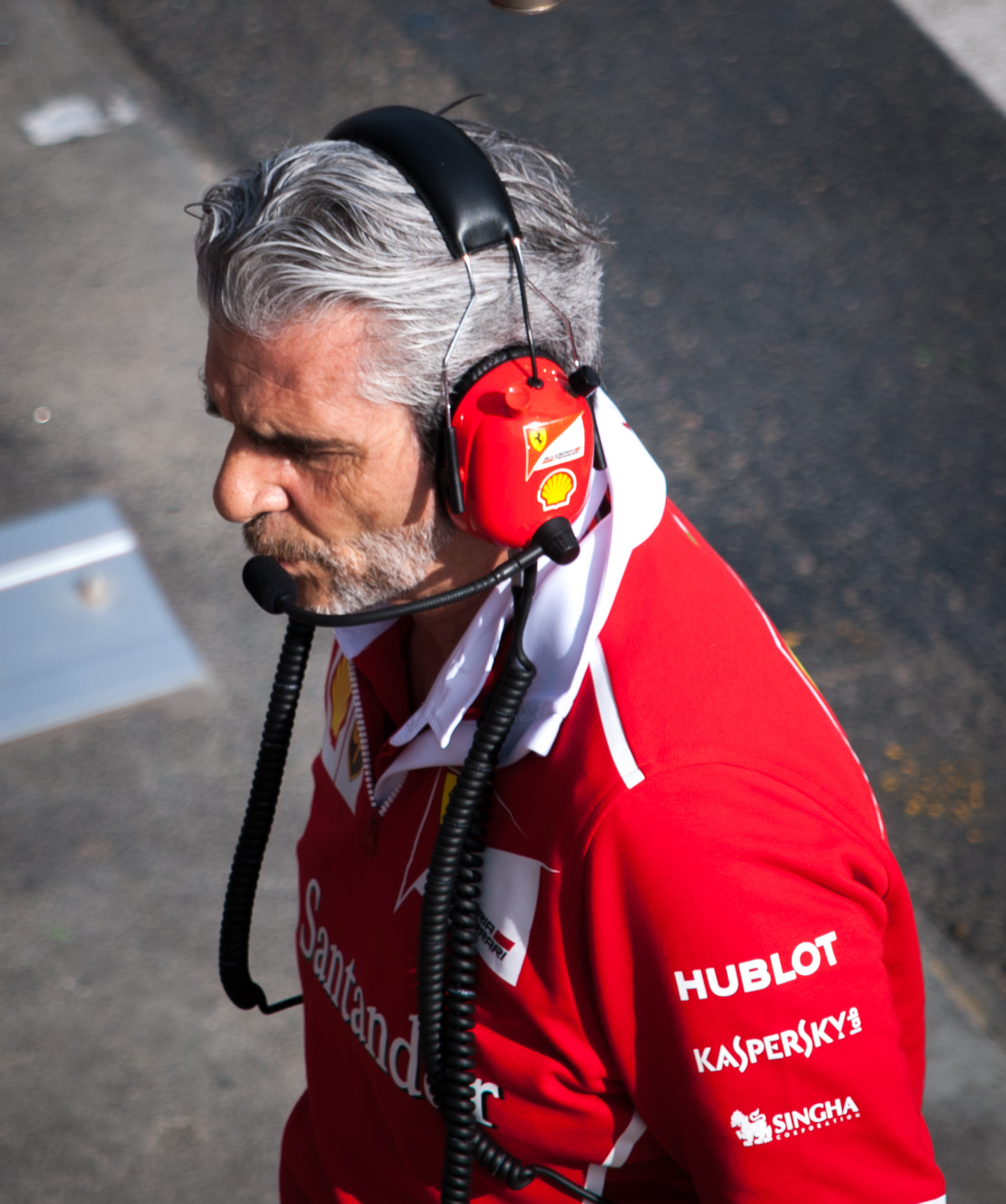 The 61-year old son of father (?) and mother(?) Maurizio Arrivabene in 2018 photo. Maurizio Arrivabene earned a  million dollar salary - leaving the net worth at 2 million in 2018