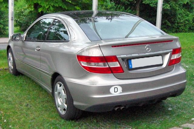 Mercedes Clc. File:Mercedes CLC 180 K