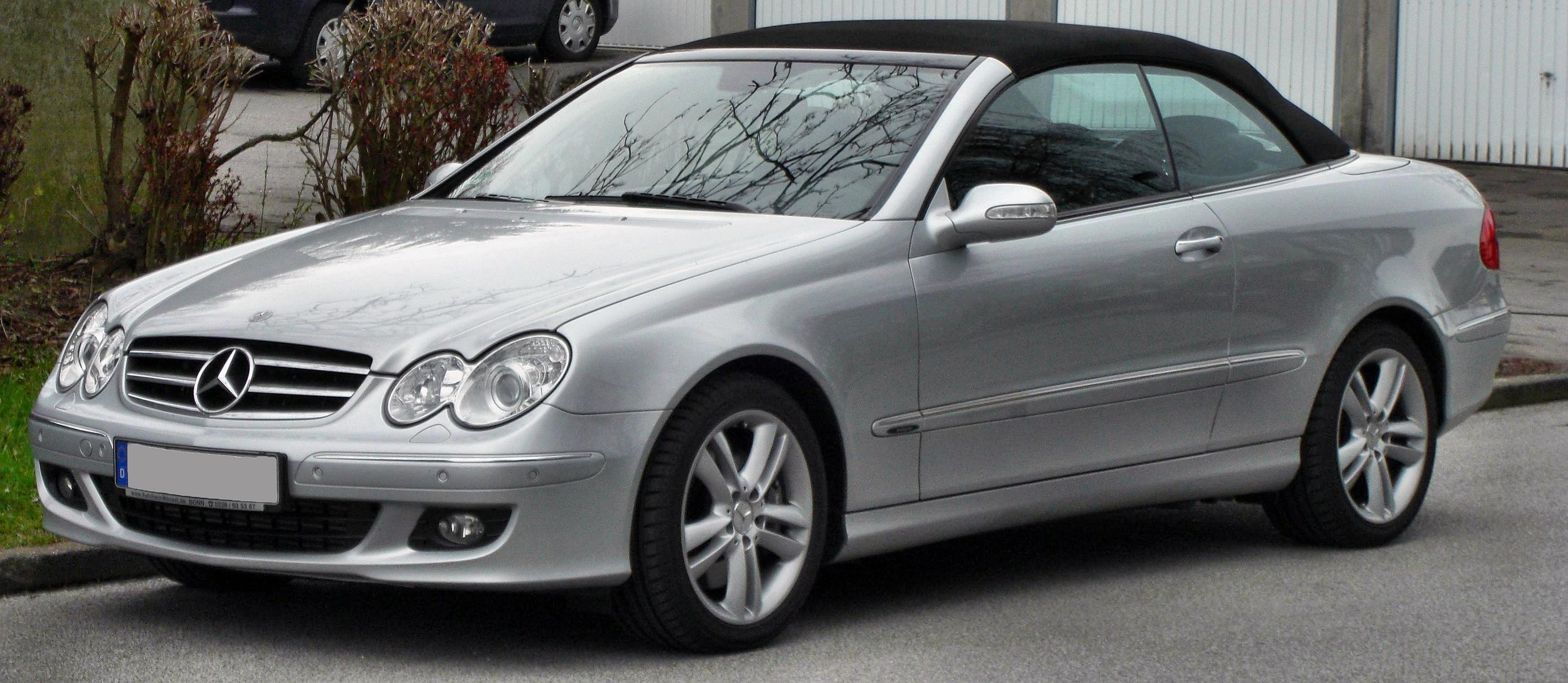 mercedes benz classe clk wikiwand. Black Bedroom Furniture Sets. Home Design Ideas
