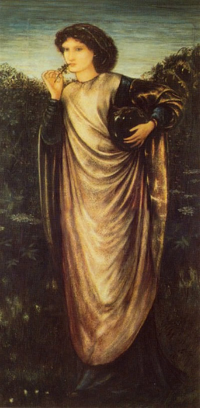 Morgan Le Fay Burne Jones Painting