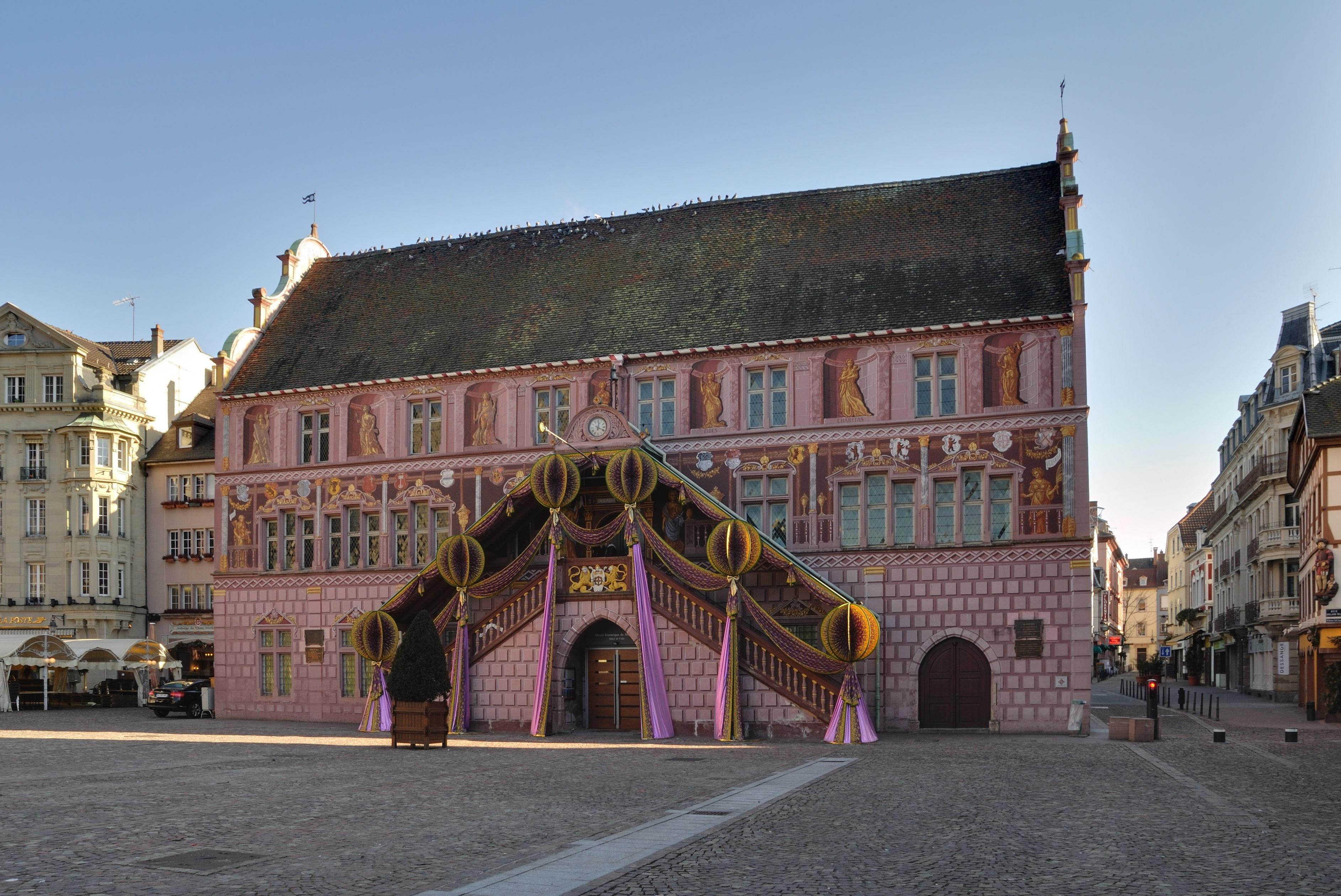 Centre Ville Mulhouse Affiche Danseuse Exotique