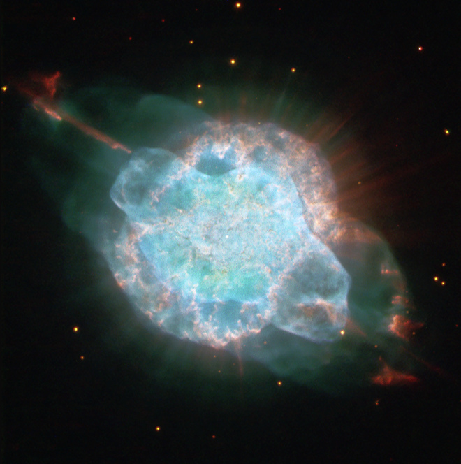 Eine Aufnahme des Hubble-Teleskops von NGC 3918