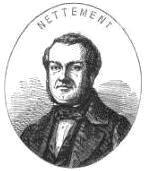 Alfred Nettement, illustration de 1850.
