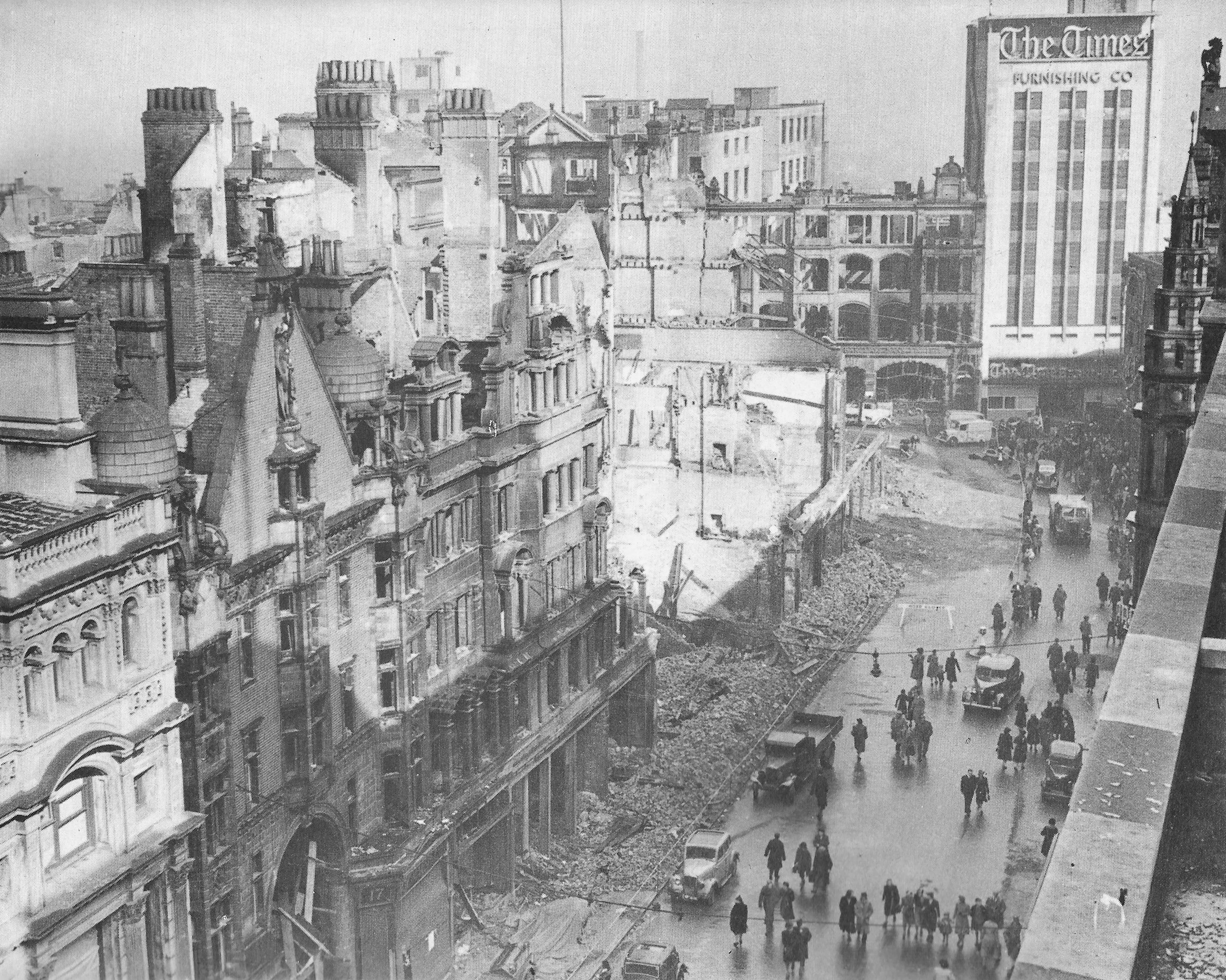 a history of the bombing occurrences during the world war two in england Fear and loathing in liverpool: popular reaction to the ira's  ira's 1939 bombing  the domestic front in britain during the second world war see.