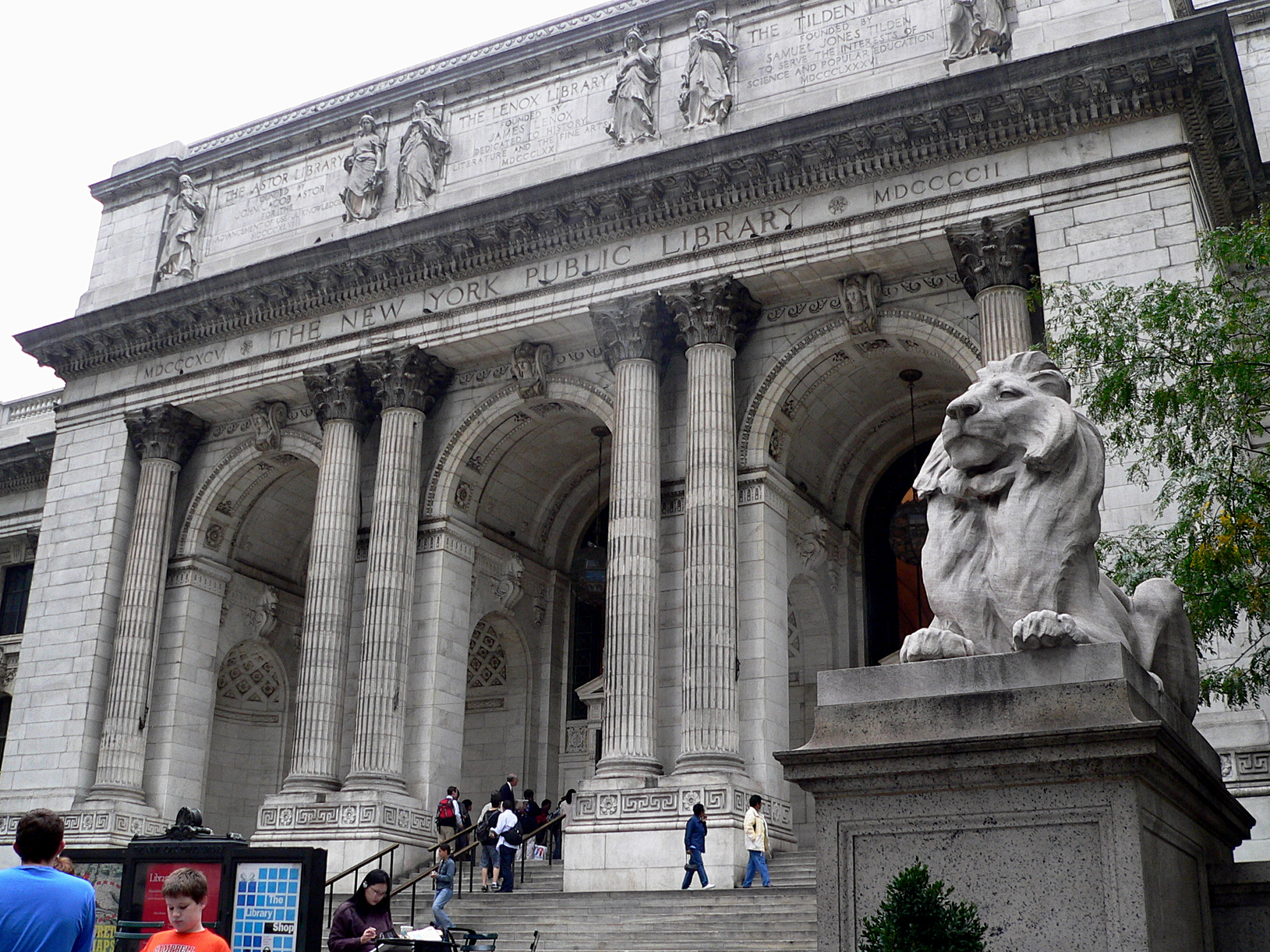 New york city public library research