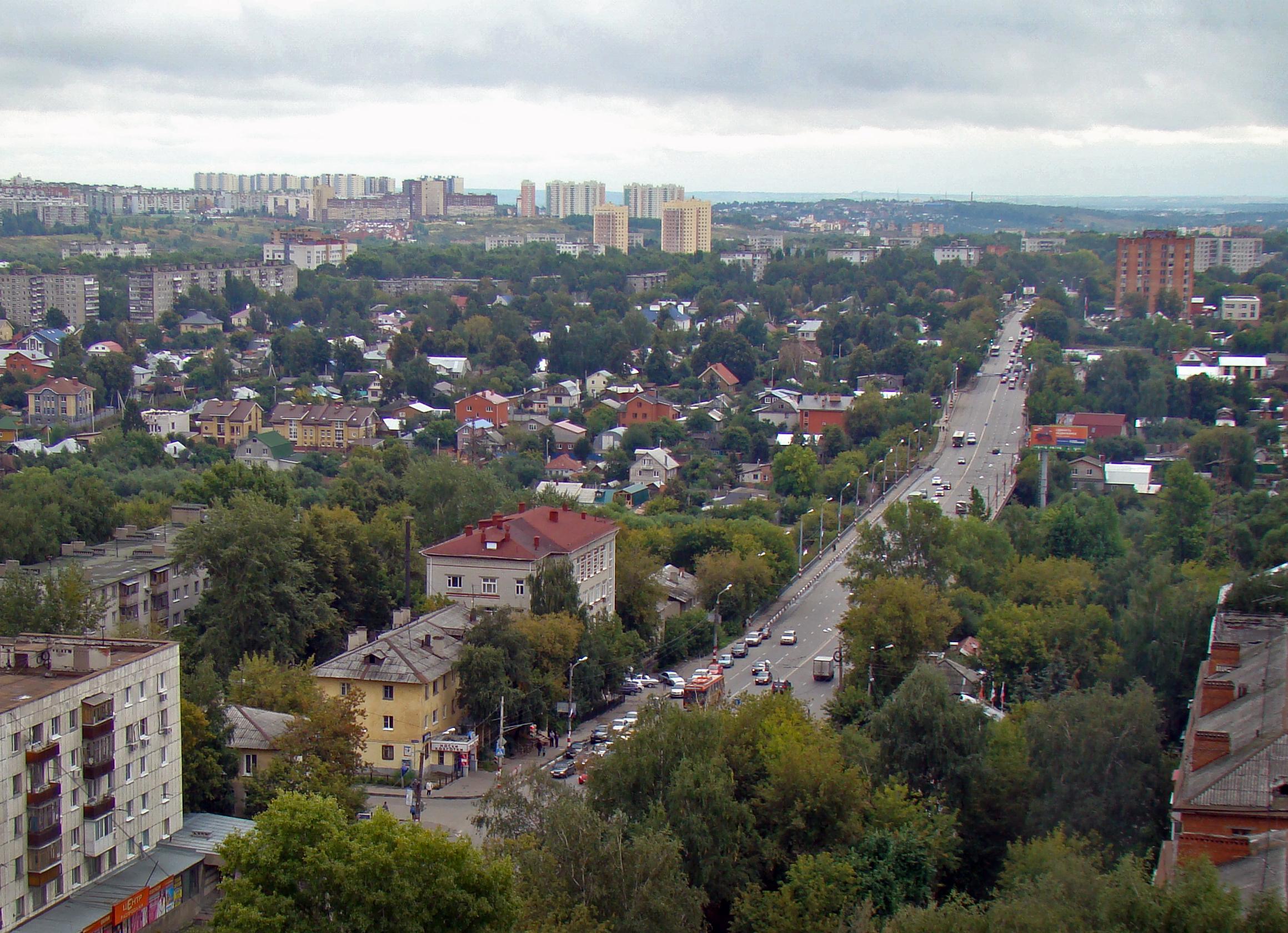 Archivo:nizhny novgorod vaneev street. - wikipedia, la enciclopedia
