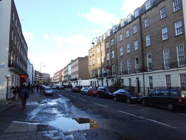 File:North Gower Street, near Euston - geograph.org.uk ...