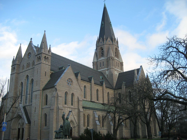 Bild av Olaus Petri kyrka